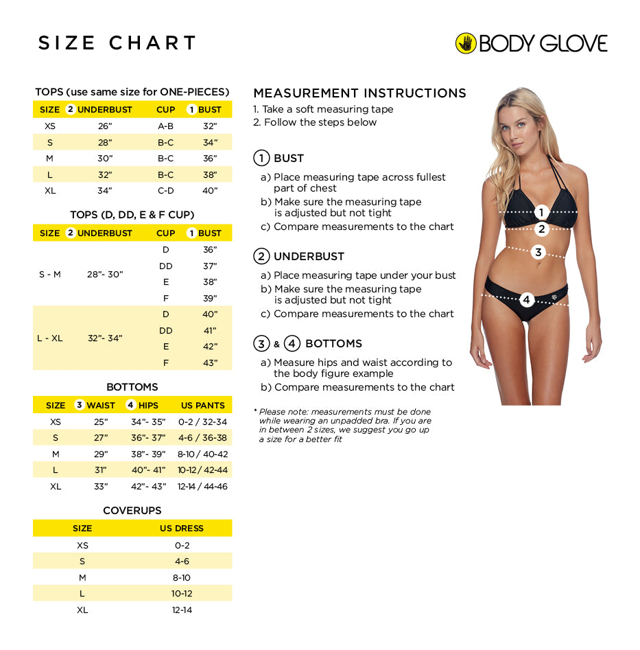 BODY GLOVE // BIKINI BAS ECLIPSE SURF RIDER ( 8 couleurs )
