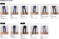 LEVI'S // JEANS SKINNY TAILLE HAUTE