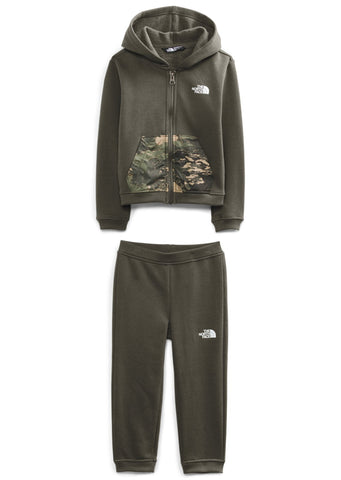 THE NORTH FACE // KIT CHANDAIL/PANTALON POUR ENFANTS, CAMP FLEECE (2 à 6ans) (Dispo en 2 couleurs)