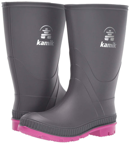 PRINTEMPS, ENFANT, BOTTE DE PLUIE, KAMIK, STOMP, VEGAN, SKU# EK4149-EK6149_G , KIDS,