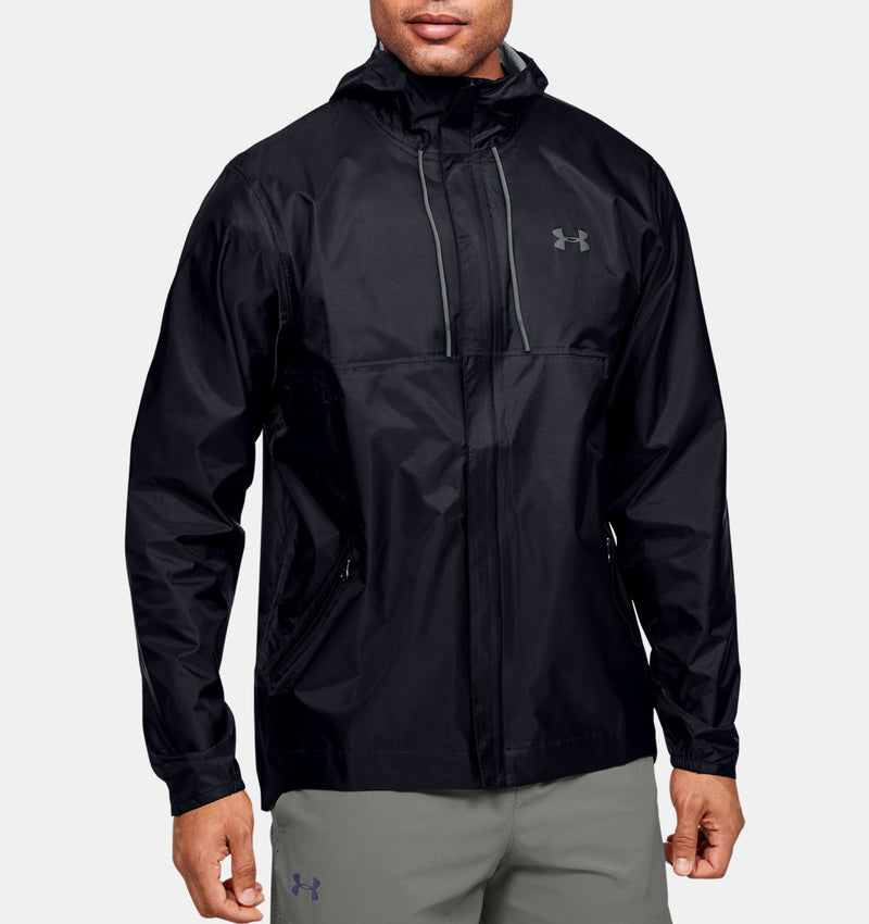 MANTEAU, MI-SAISON, SPORT, HOMME, HAUT, UNDER ARMOUR, CLOUDBURST, MAHEU GOS PORT