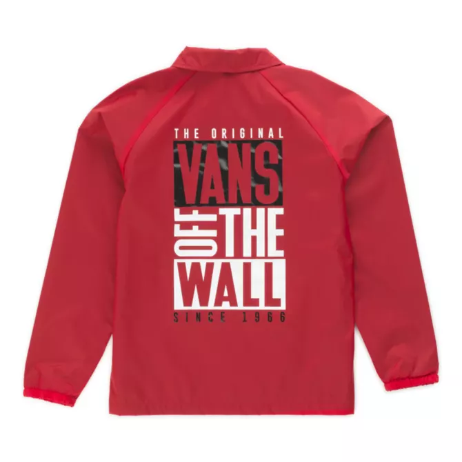 VANS // COACH JACKET PRINTEMPS JUNIOR (  2 couleurs )