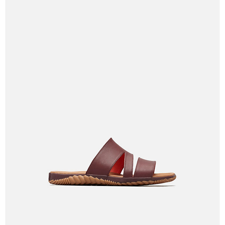 Sandale Sorel, Out 'n about Plus slide, Elderberry, SS19