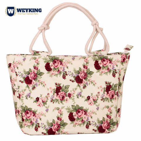WEYKING 2019 Fashion Folding Women Big Size Handbag Tote Ladies Casual Flower Printing Canvas Graffiti Shoulder Bag - Active Noise Cancelling Headphones Bluetooth Headphones with Mic Deep Bass Wireless Headphones Over Ear, Comfortable Cortex Earpads, 20H Playtime for Travel Work TV PC Cellphone