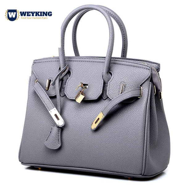 WEYKING 2019 Luxury Women PU Leather Handbag Fashion Tote Bags Crossbody Bag Shoulder Bag - Active Noise Cancelling Headphones Bluetooth Headphones with Mic Deep Bass Wireless Headphones Over Ear, Comfortable Cortex Earpads, 20H Playtime for Travel Work TV PC Cellphone