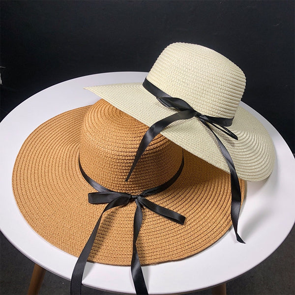 New Product Straw Hats Straw Hat Outdoors On Vacation Sunscreen Will Eaves Sun Hat