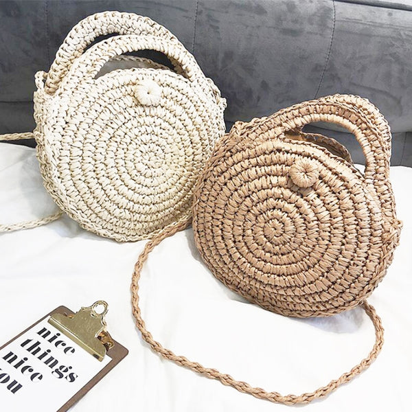 Summer Handmade Bags for Women Straw Bag Handbags Totes