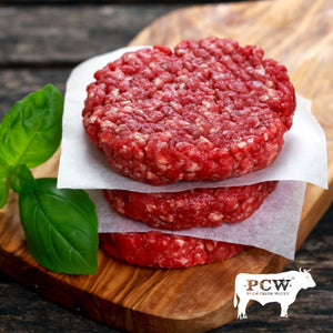 Burger Patties (pkg of 4) - Fullblood Wagyu Beef