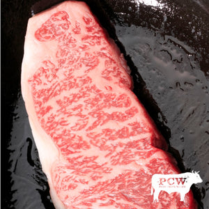 New York Strips (pkg of 2) - Fullblood Wagyu Beef