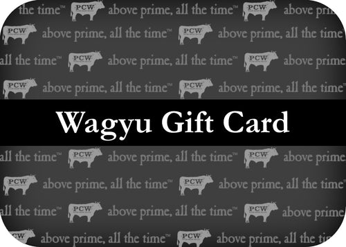 Wagyu Gift Cards