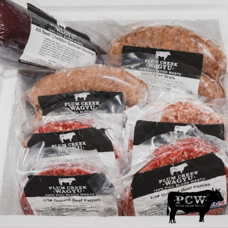 Tailgate Box - Burgers & Summer Sausage