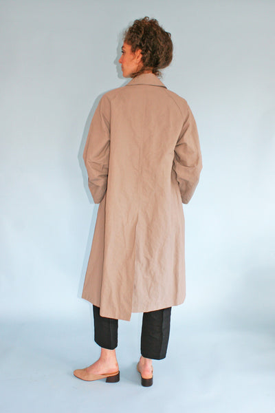 HORSES ATELIER WAXED TRENCH