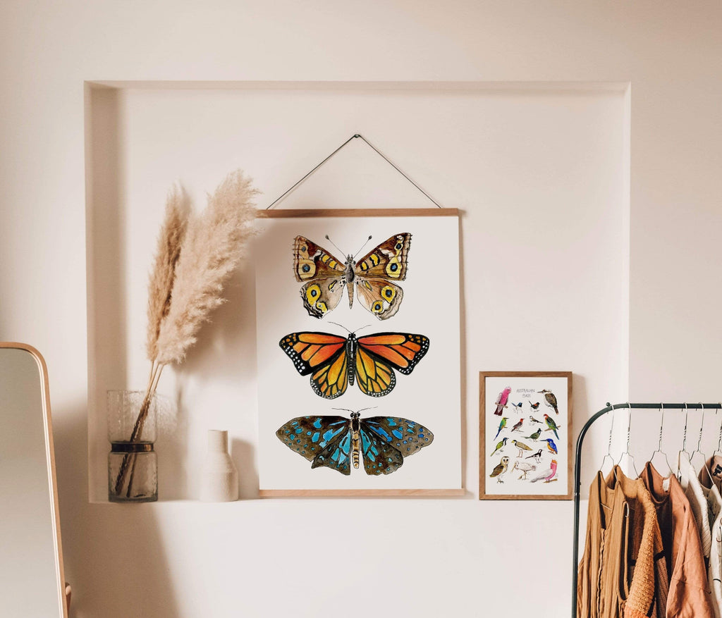 The Curated Parcel Australian Butterfly Trio