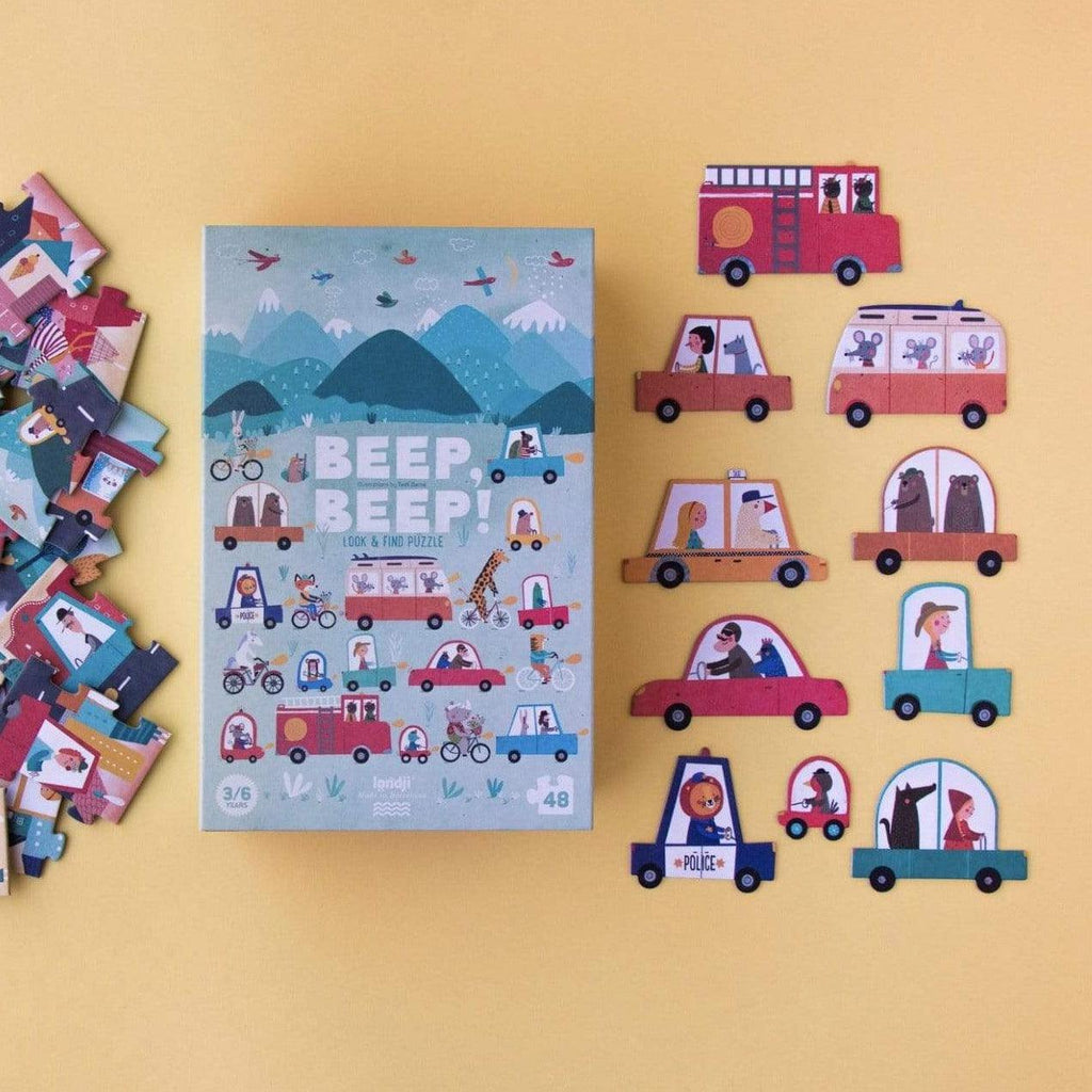 The Curated Parcel Londji // Beep Beep Puzzle
