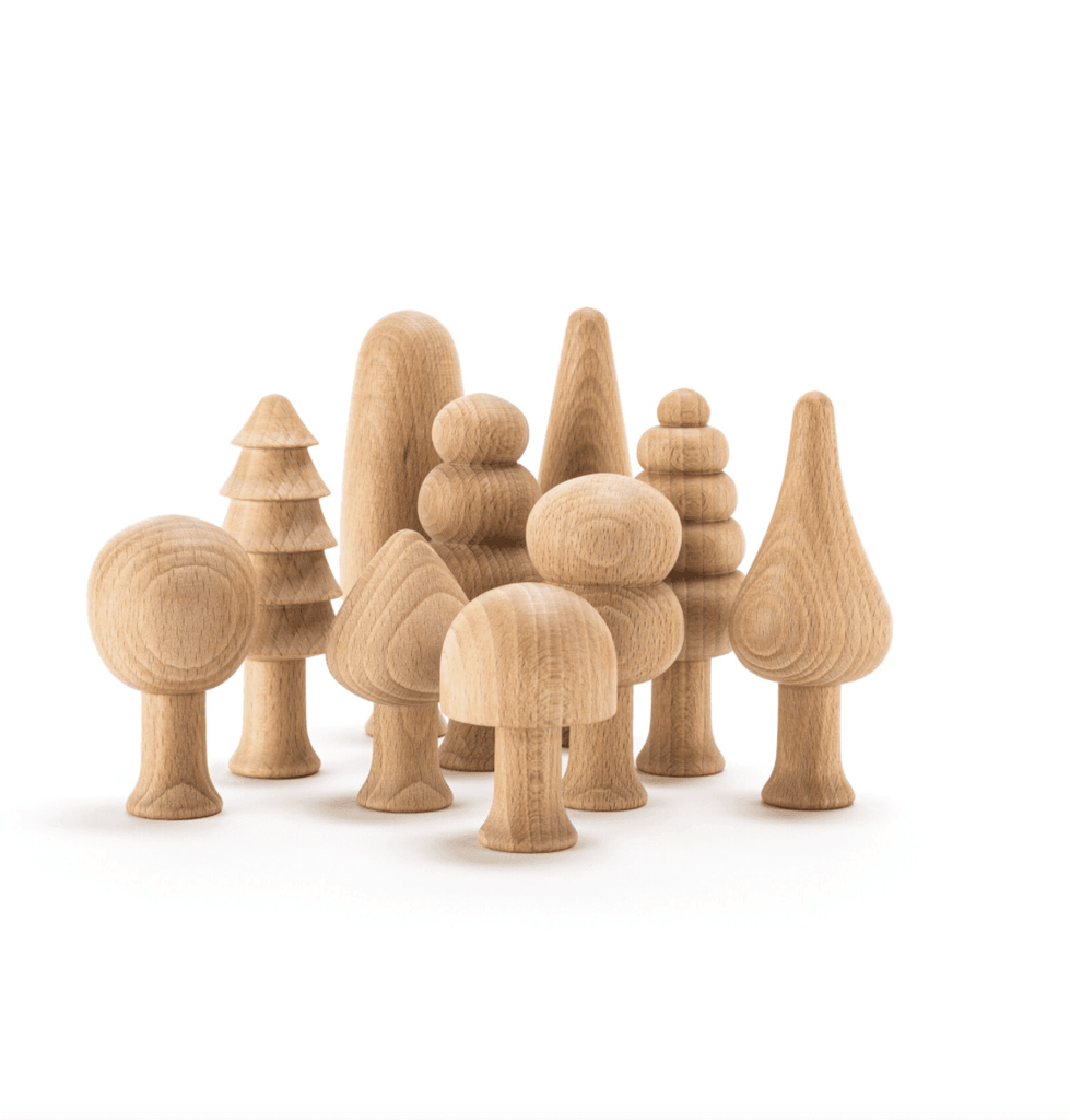 The Curated Parcel Ocamora Forest Set of 10 Natural