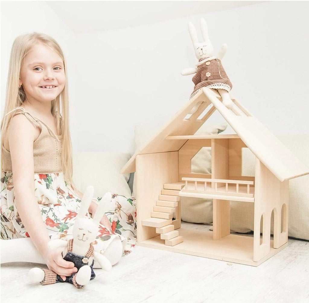The Curated Parcel Wooden Doll House - Majesty ** Estimated Nov Delivery **