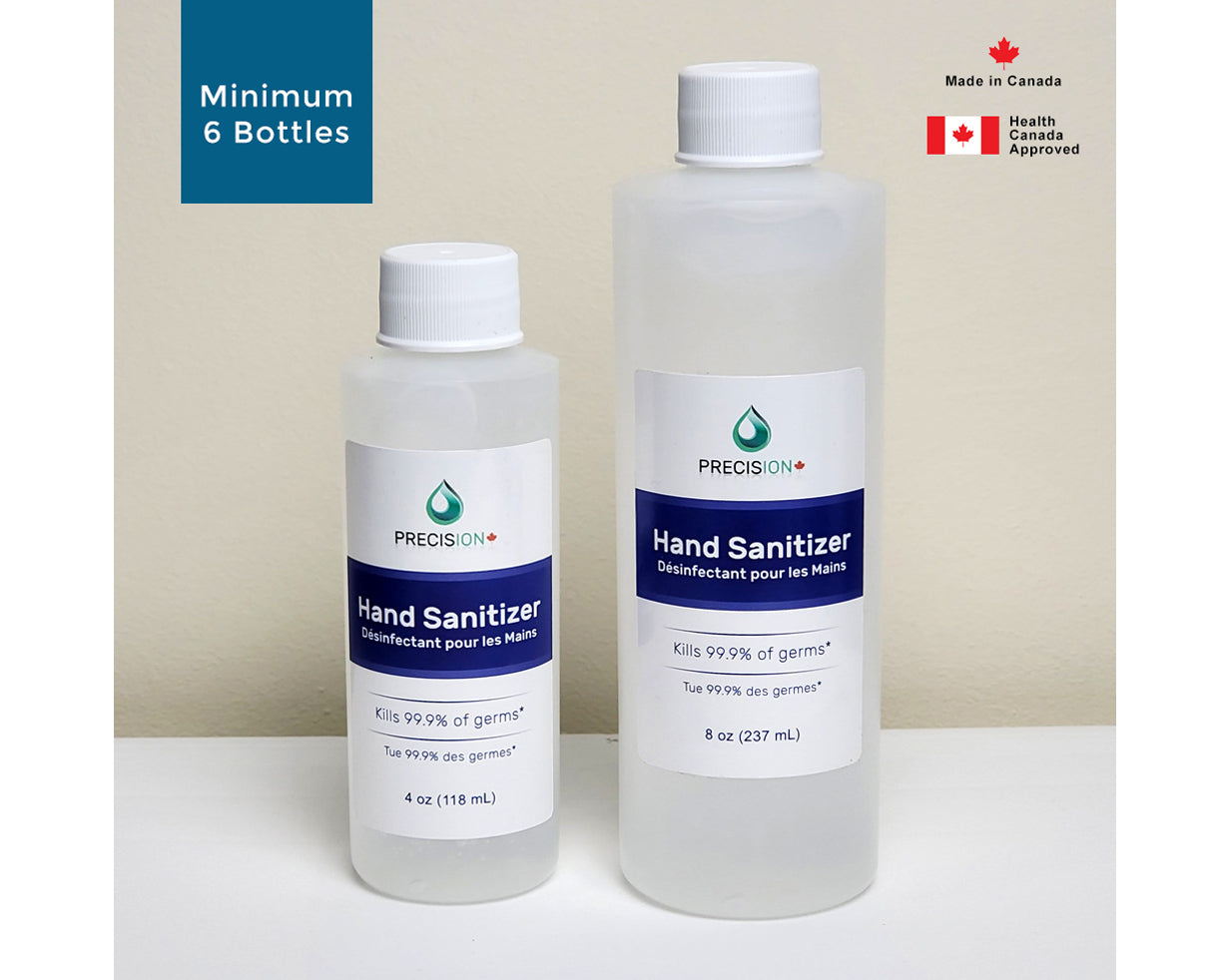 Precision Hand Sanitizer - 4oz/118ml or 8oz/237ml (Minimum 6 Bottles)