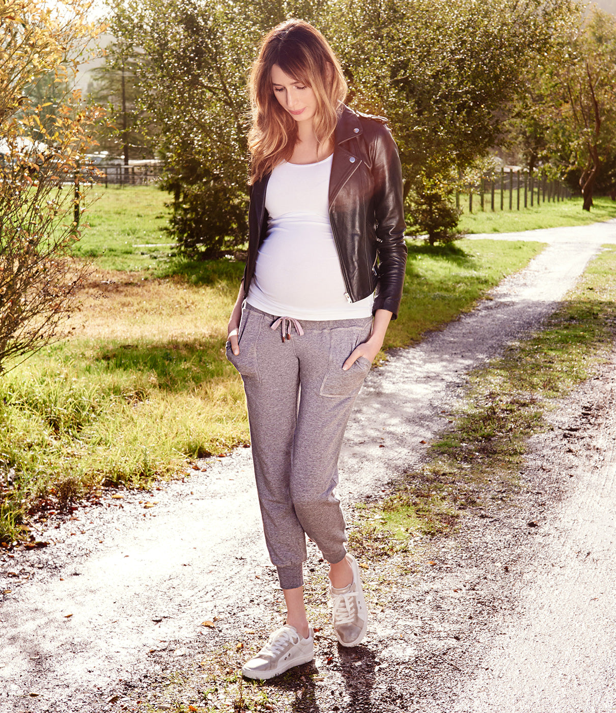 GROWS WITH YOUDesigned for wear during and after pregnancy, making them a great casual wardrobe addition.