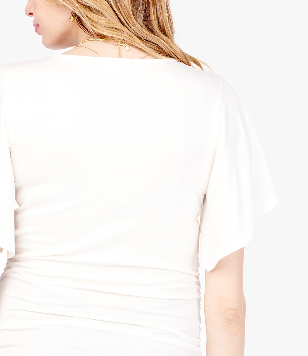 What It's Made Of Soft and drapey cotton blend fabric for maximum comfort.