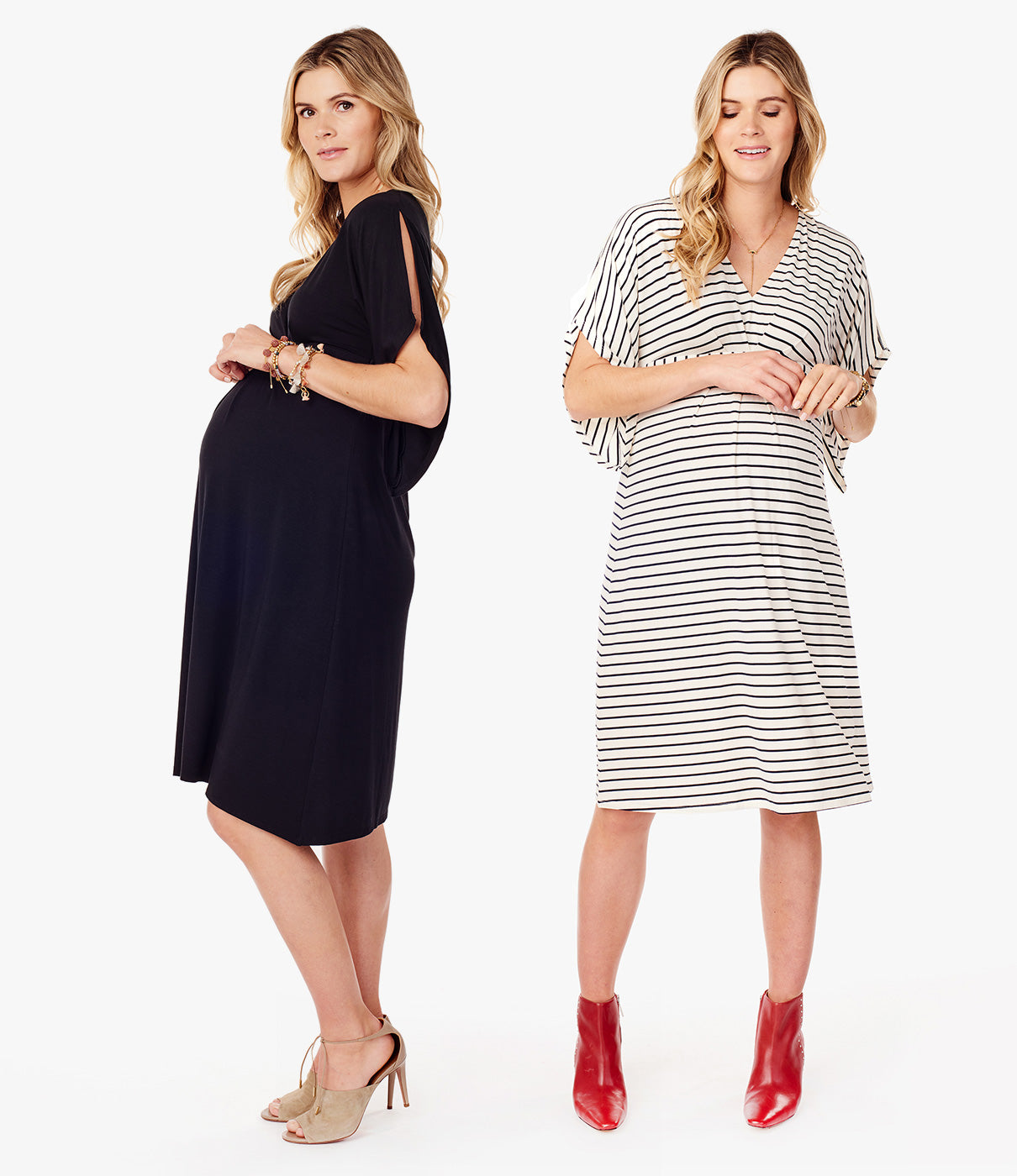 WHERE TO WEARThe beauty of this dress? Wear it everywhere and anywhere. Just change up your shoe and you've got a great maternity wardrobe staple.
