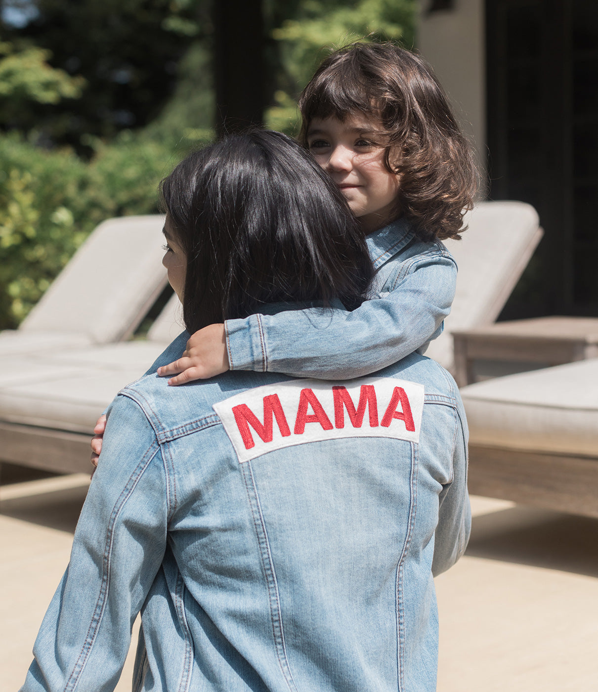 MAKE IT A PAIRCheck out the the MAMA Denim Jacket for an adorable mommy-and-me look.