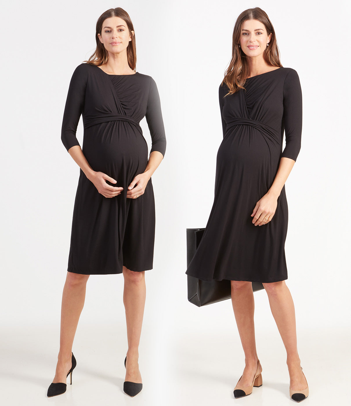 Grows With YouWear throughout pregnancy and after.  A great wear to work dress postpartum!