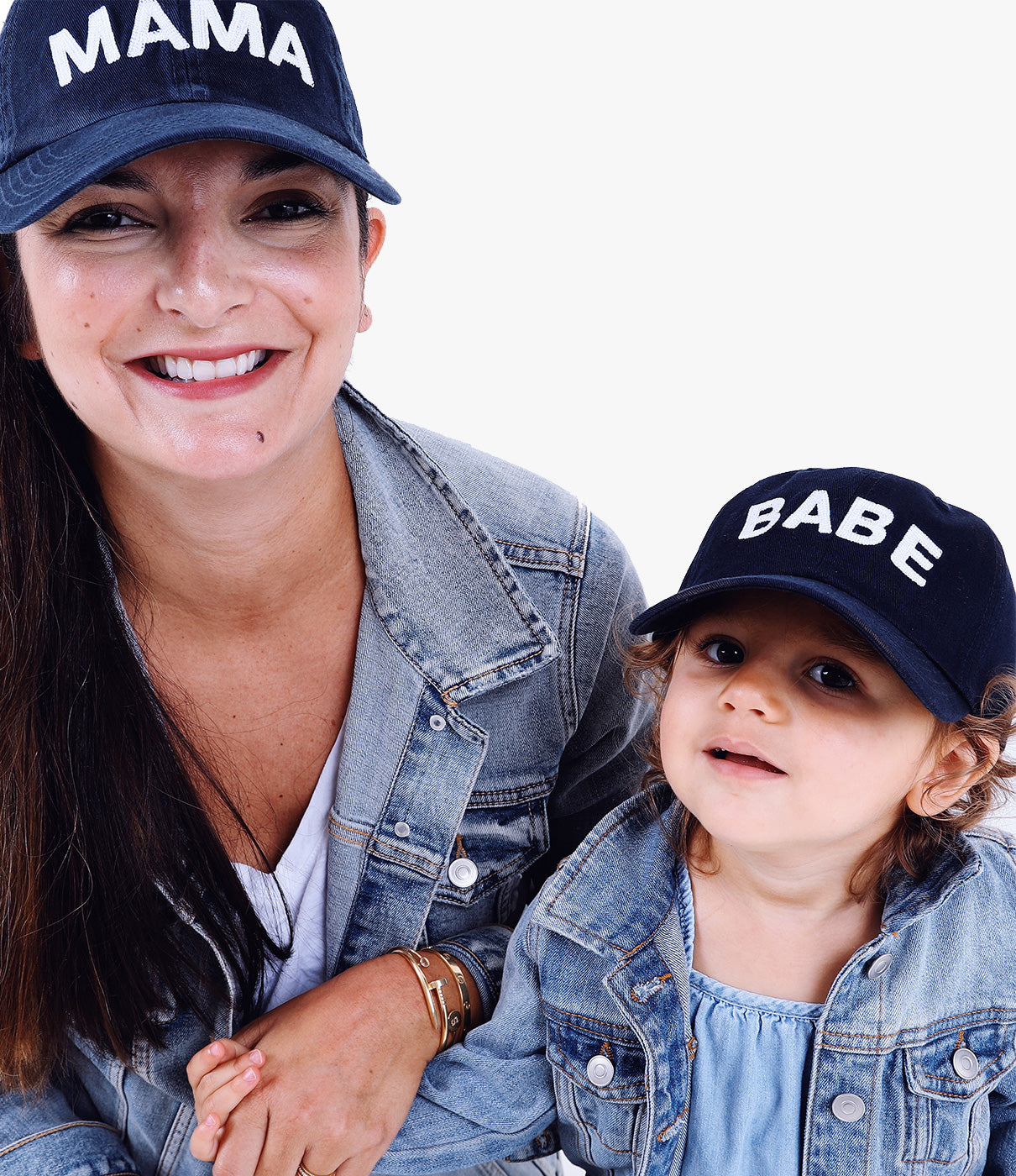 Make it A PairGrab a MAMA hat to match with your mini.
