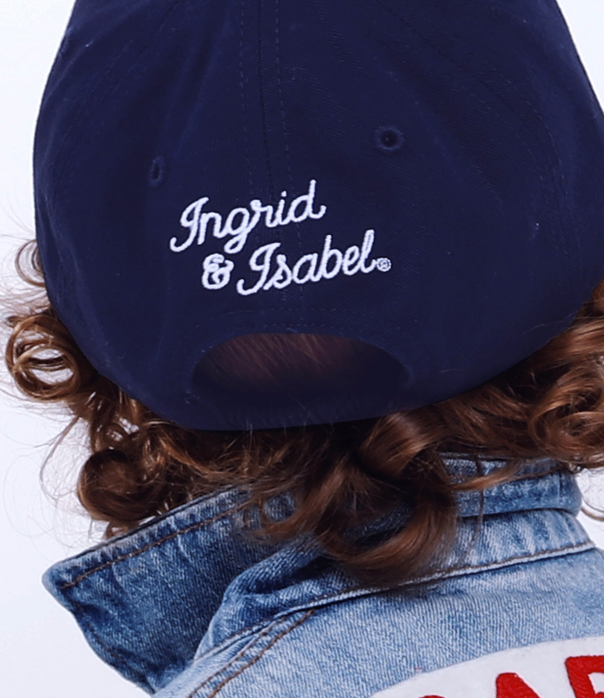 In the detailsChain Stitched Mama and Babe moniker on front of caps and chainstiched logos on back.