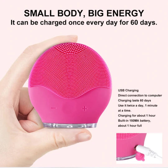 Electric Facial Cleaning Brush [🔥HOT-SELLING]