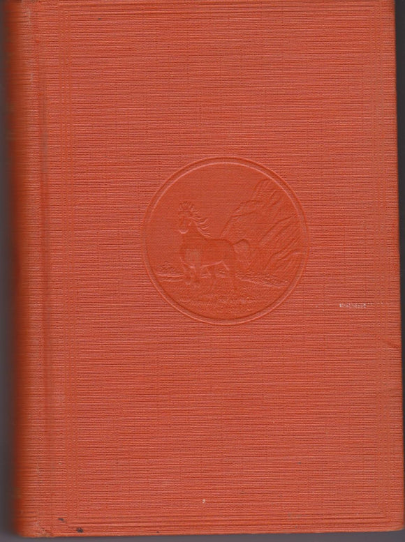 30,000 On the Hoof    Hard Cover Orange  by  Zane Grey  1940
