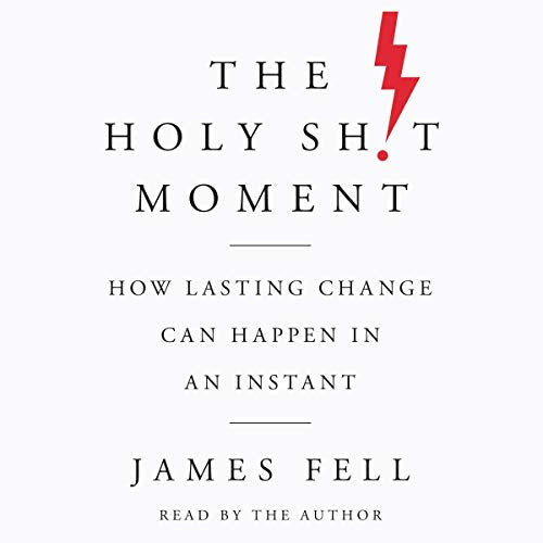 The Holy Shit Moment  Hard Cover by  James Fell    2019