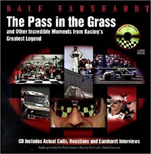 The Pass in the Grass  Dale Earnhardt Sr. Book and CD  Hardcover w/jacket  2001