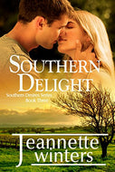 Southern Delight Southern Desires Series Book Three  Paperback Autographed by Jeannette Winters 2016