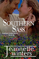Southern Sass Southern Desires Series Book Six  Paperback Autographed by Jeanette Winters 2017