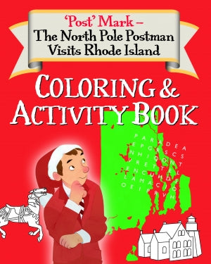 North Pole Postman Visits Rhode Island   Childrens  Paperback by Mark Perry   2018
