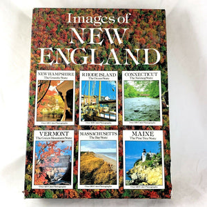 Images of New England  6 Book Set  Vintage Photos  Hardcover w/jacket  1988