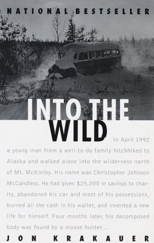 Into the Wild    Paperback      by Jon  Krakauer   1996