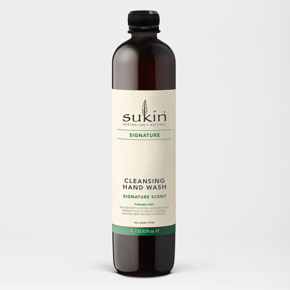 Sukin Naturals Signature Cleansing Hand Wash Refill 1 Liter