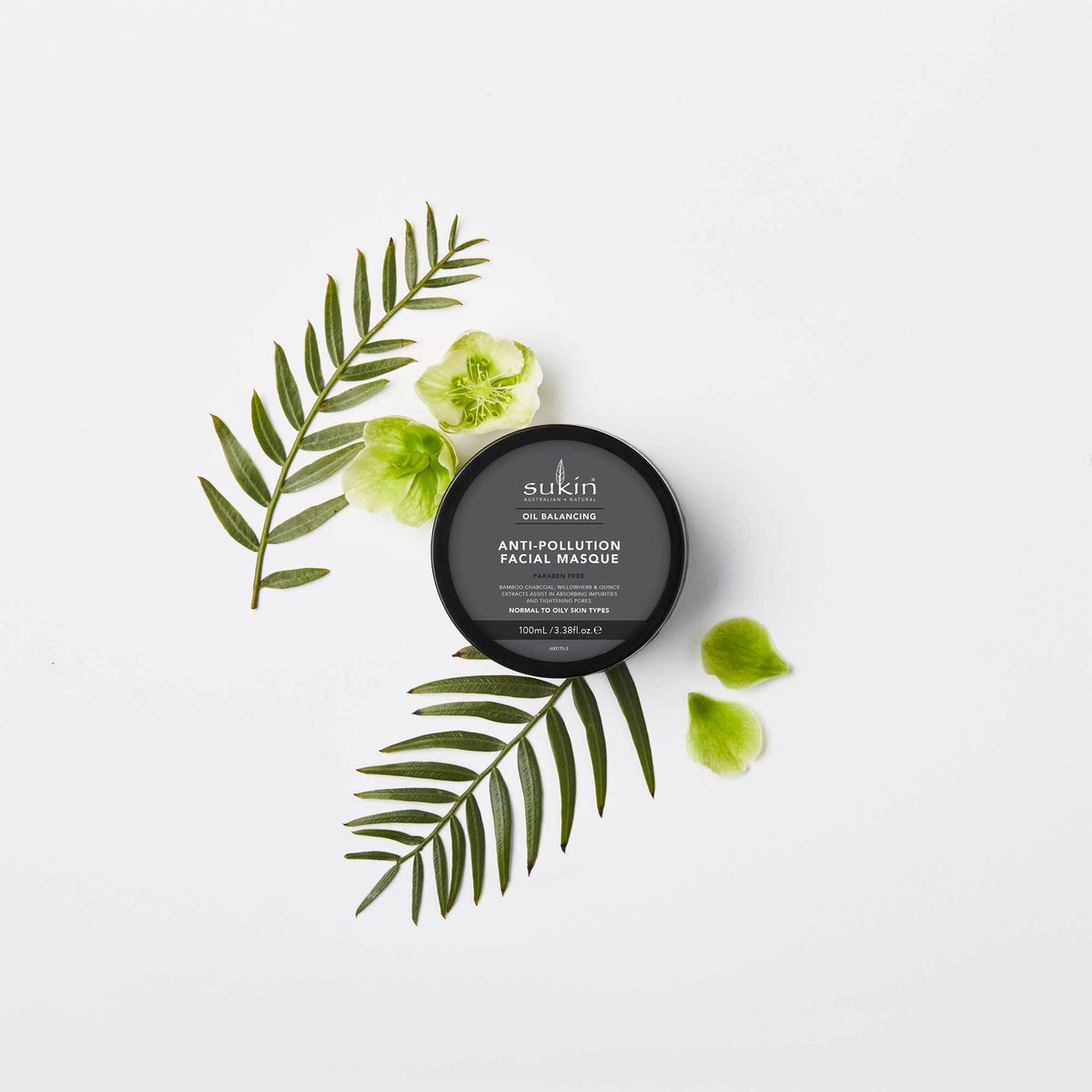 Anti-Pollution Facial Mask | Oil Balancing - Sukin Naturals USA