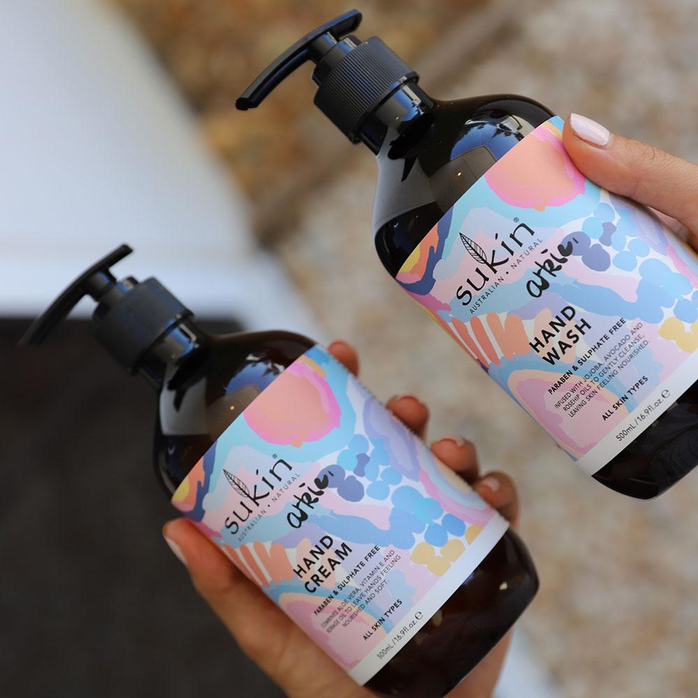 Sukin Naturals Arkie Hand Wash & Hand Cream Gift Pack