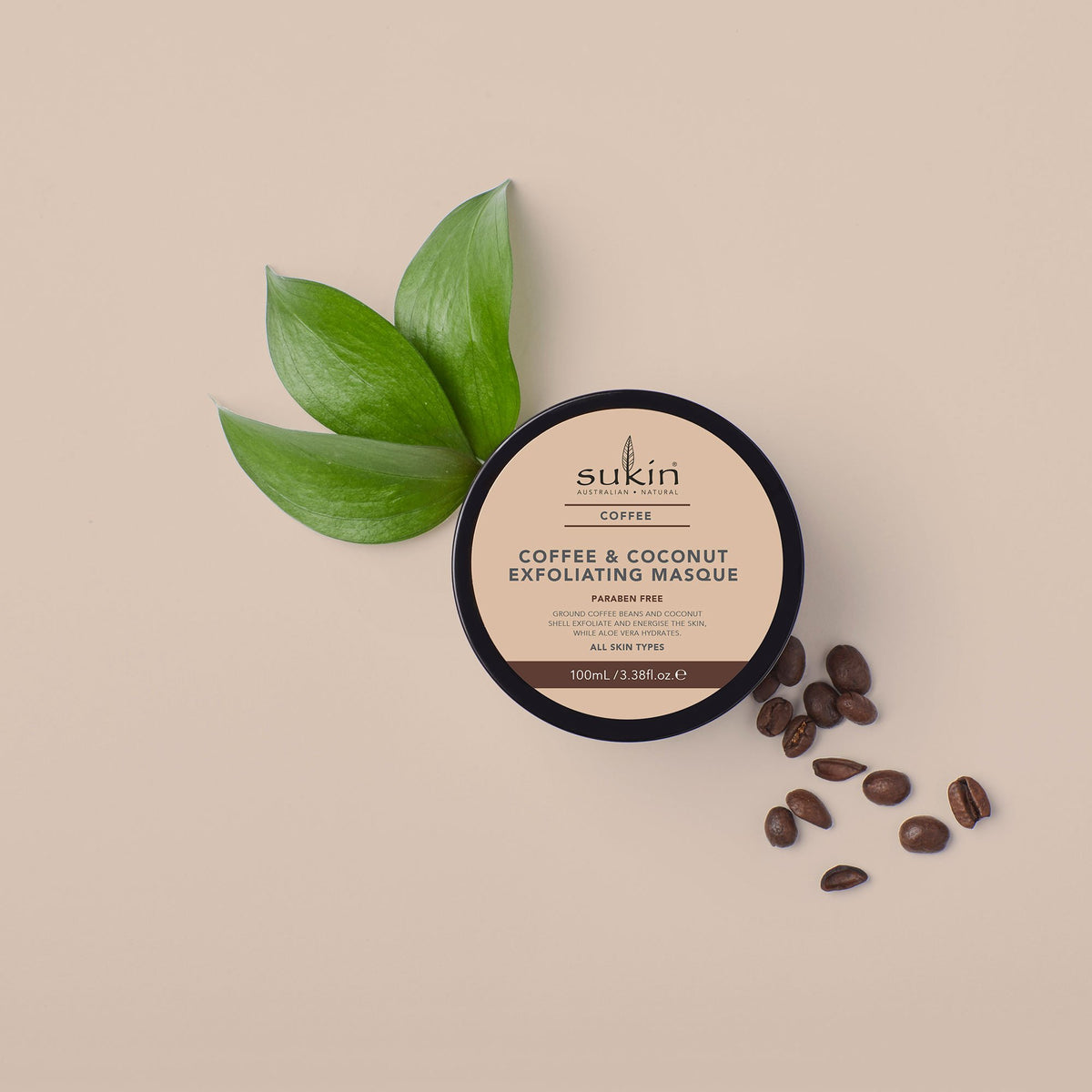 Sukin Naturals Coffee & Coconut Exfoliating Mask