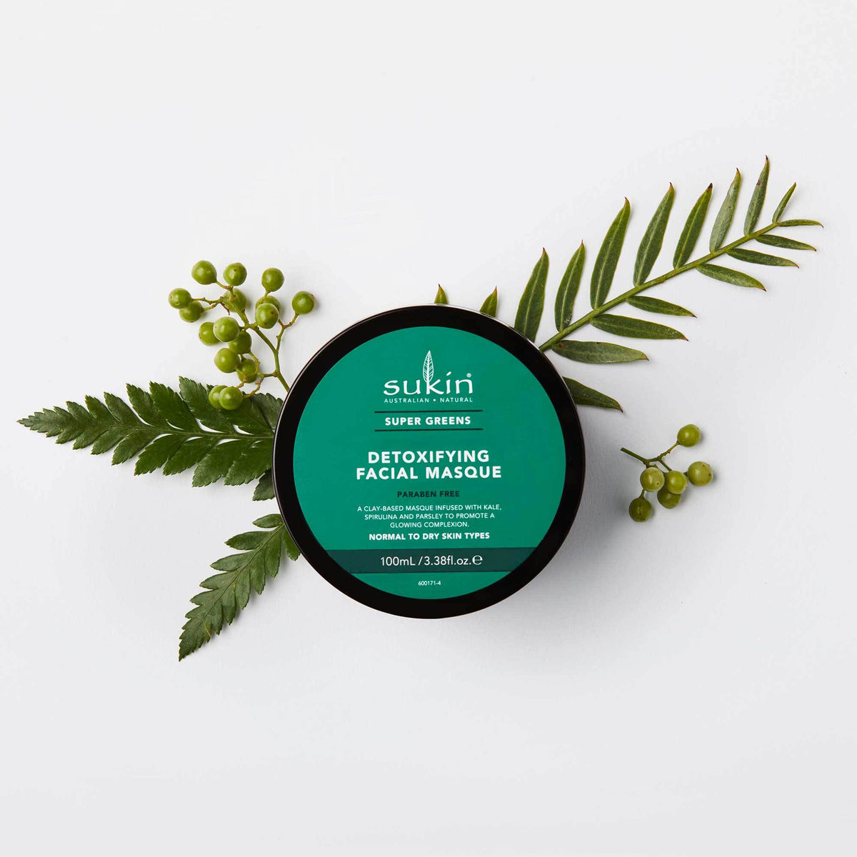 Sukin Naturals Super Greens Detoxifying Clay Mask