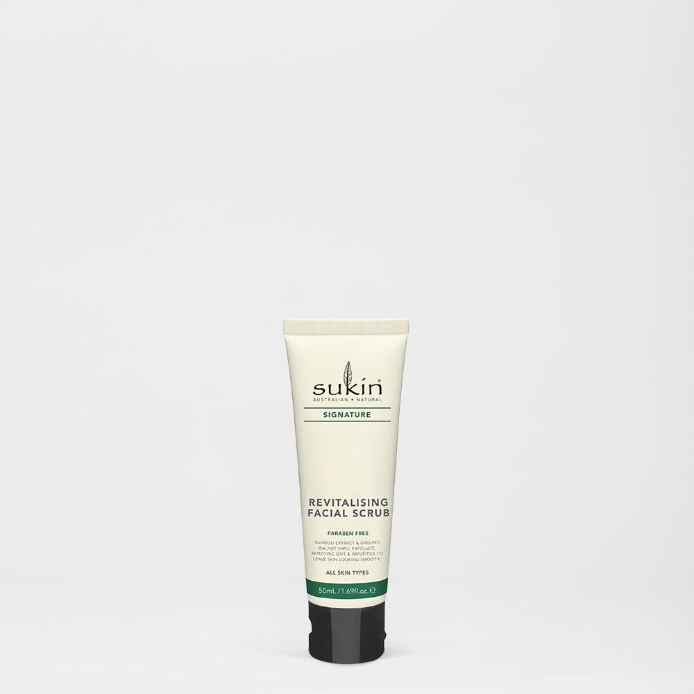 Revitalizing Facial Scrub | Travel Size - Sukin Naturals USA