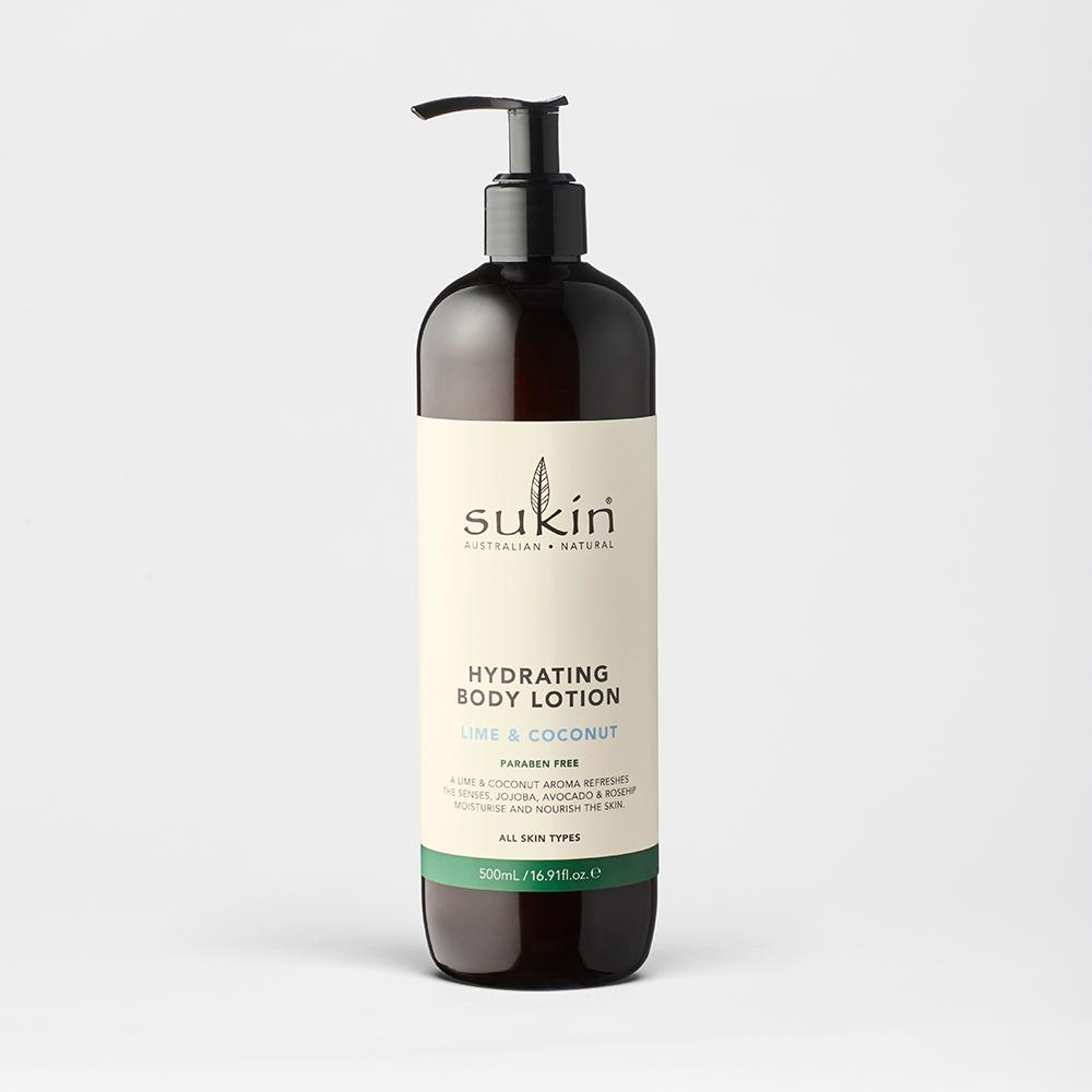 Hydrating Body Lotion | Lime & Coconut - Sukin Naturals USA