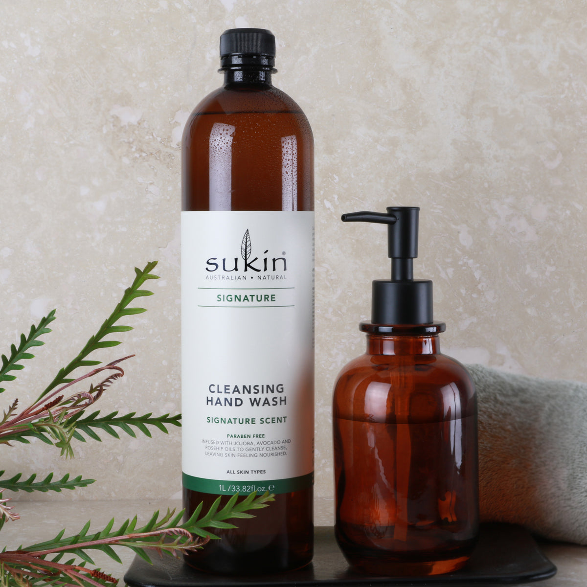 Cleansing Hand Wash Refill | Signature - Sukin Naturals USA