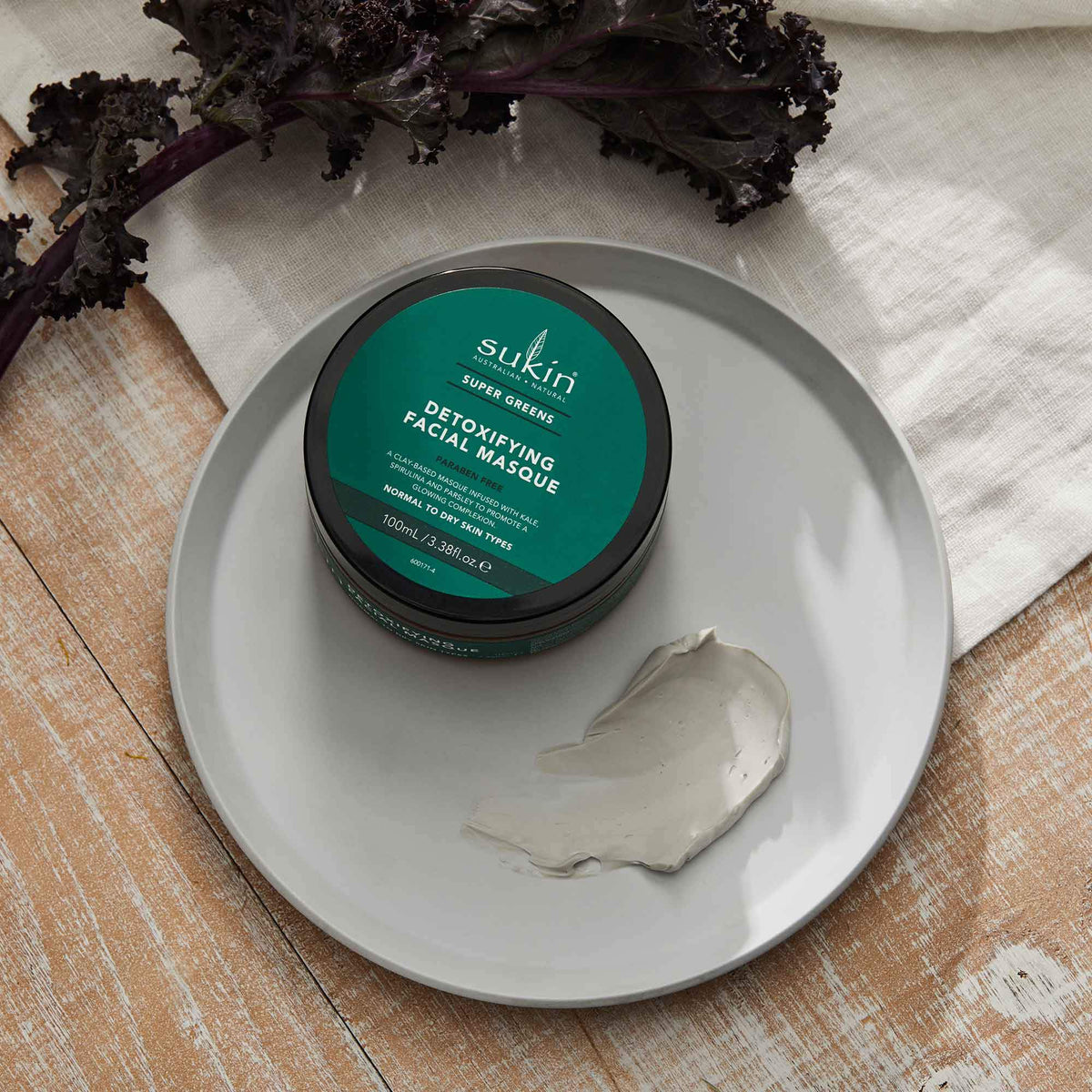 Detoxifying Clay Mask | Super Greens
