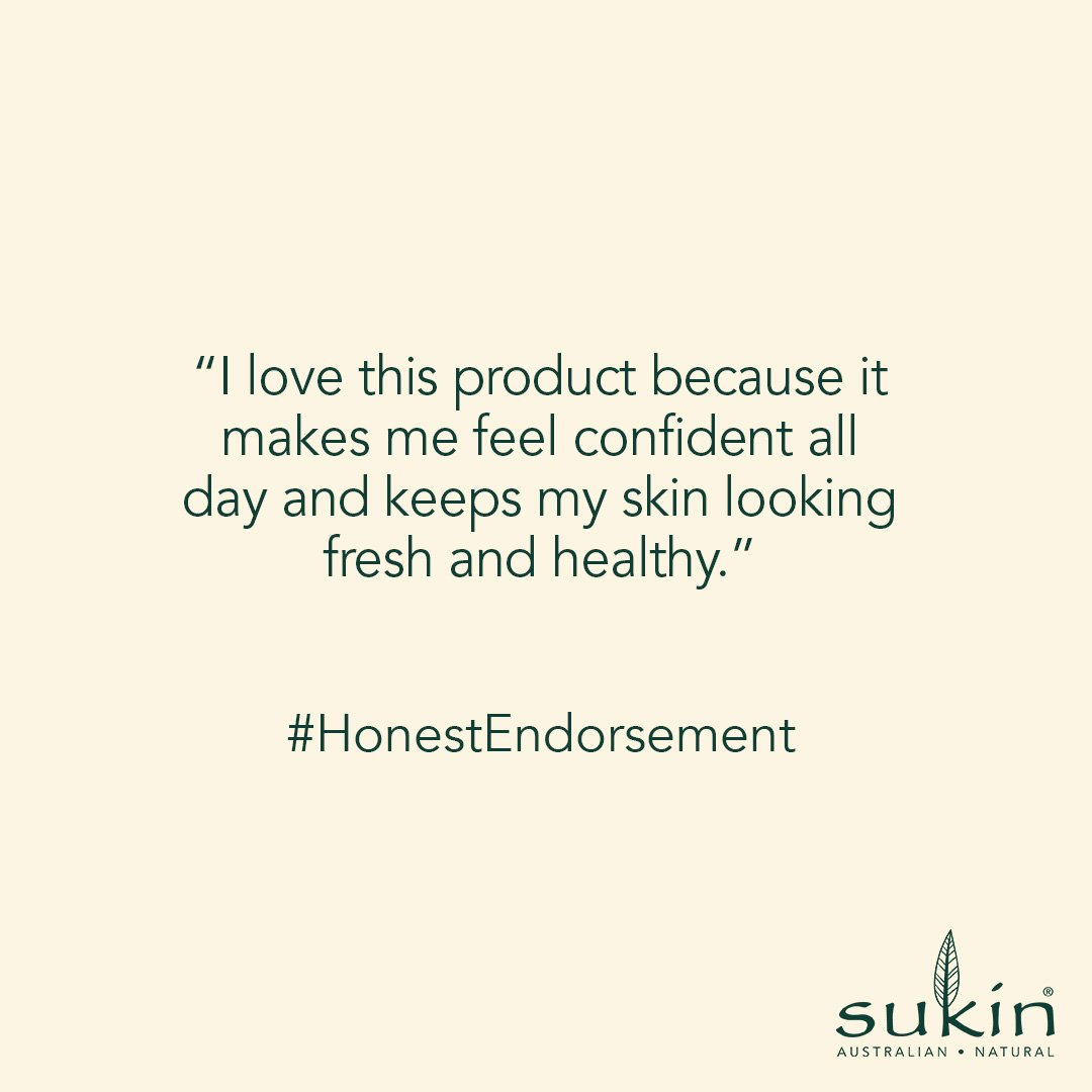 Sukin Naturals Signature Hydrating Mist Toner honest endorsement