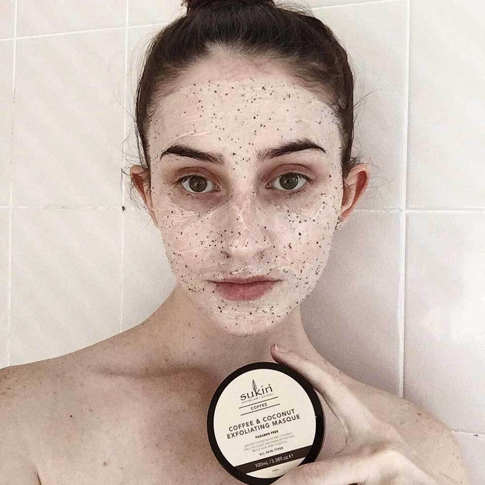 Coffee & Coconut Exfoliating Mask - Sukin Naturals USA