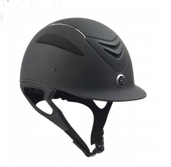One K Defender Helmet - Matte Black