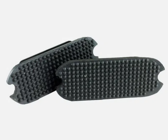 Rubber Stirrup Pads - Black